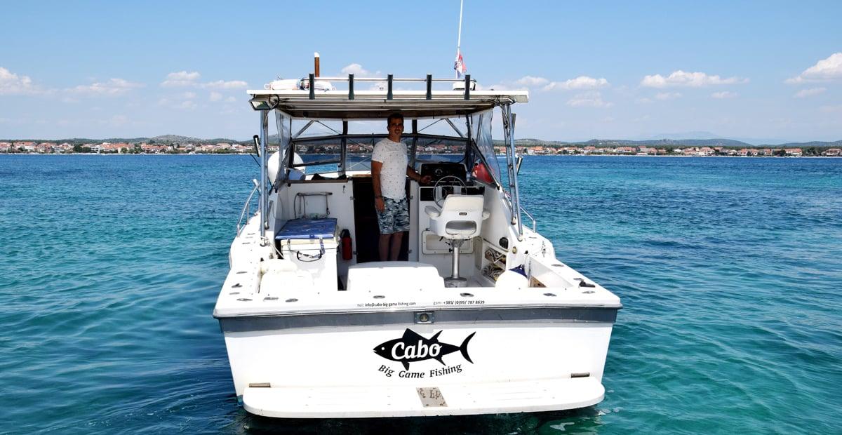 Deep sea angling in croatia biograd zadar murter for Fishing in croatia